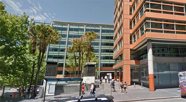 The man set himself alight outside the Immigration building on Lee Street in Sydney. Photo: Google Maps