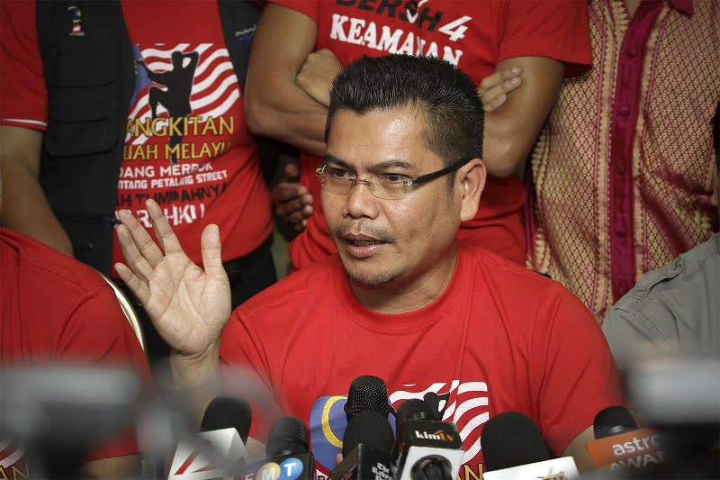 Datuk Seri Jamal Yunos disappeared from the hospital yesterday evening before his bail process was completed. — Picture by Yusof Mat Isa