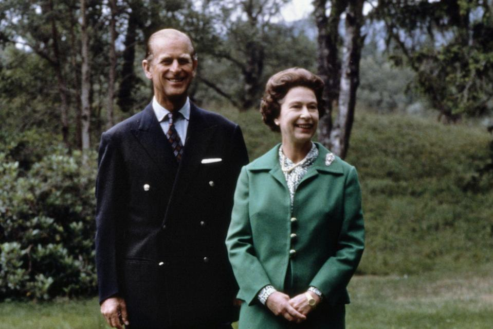 <p>Lasting love: the royal couple at Balmoral in 1979</p> (AFP via Getty Images)
