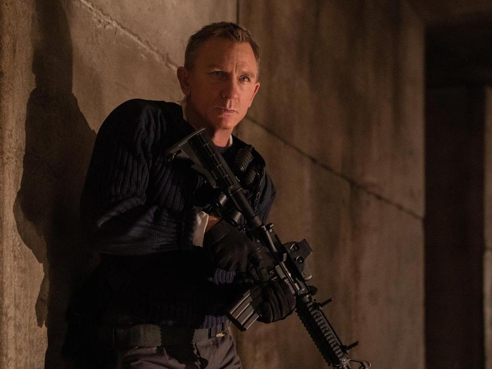Daniel Craig as James Bond in 'No Time To Die' (Universal)