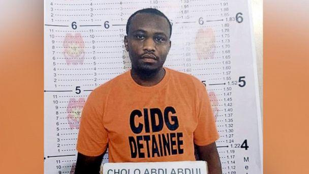 PHOTO: Kenyan national Cholo Abdi Abdullah is seen in a mugshot from his July 2019 arrest in the Philippines released by the Criminal Investigation and Detection Group.  (Criminal Investigation and Detection Group)