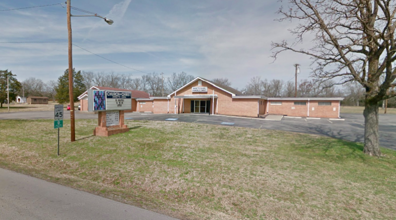 Authorities responded to a shooting at the Burnette Chapel Church in Antioch, Tenn., on Sunday. (Google Maps)