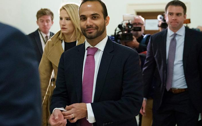 George Papadopoulos, the former Trump campaign adviser who triggered the Russia investigation - AP