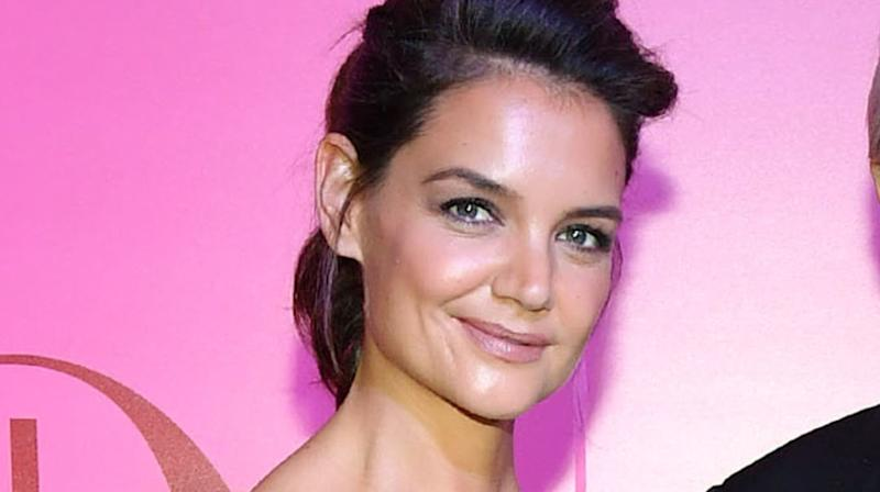 Katie Holmes' New Pixie Cut Will Make You Do A Double Take