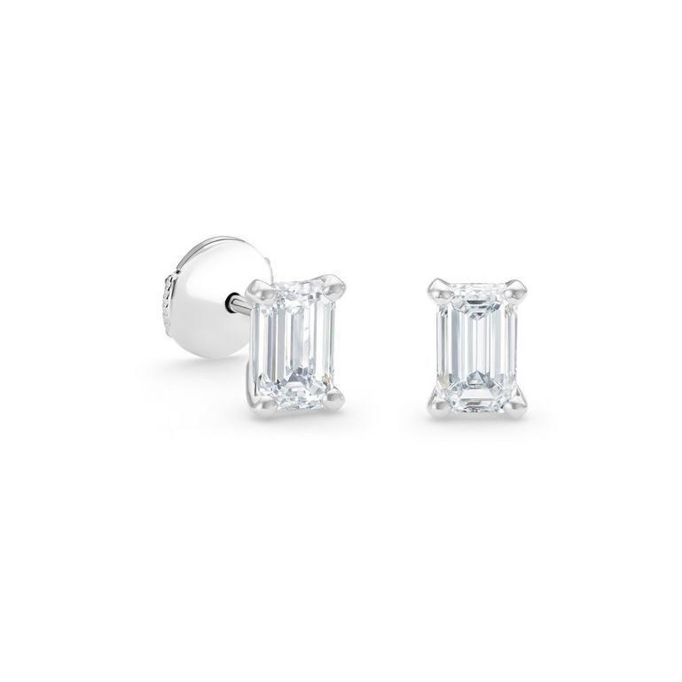"""<p><a class=""""link rapid-noclick-resp"""" href=""""https://www.debeers.co.uk/en-gb/db-classic-emerald-cut-diamond-studs/E102198.html"""" rel=""""nofollow noopener"""" target=""""_blank"""" data-ylk=""""slk:SHOP NOW"""">SHOP NOW</a></p><p>A classic pair of diamond studs is the jewellery equivalent of a Little Black Dress - effortlessly stylish and a fail-safe way to elevate any look. Whatever you pair them with - be it a workaday suit, denim or a cashmere jumper - they will add instant polish. </p><p>Classic diamond stud earrings, £10,300, <a href=""""https://www.debeers.co.uk/en-gb/home"""" rel=""""nofollow noopener"""" target=""""_blank"""" data-ylk=""""slk:De Beers"""" class=""""link rapid-noclick-resp"""">De Beers</a></p>"""