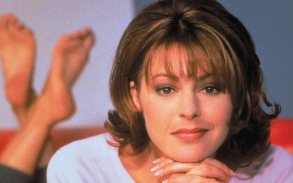 'She's in': Jane Leeves in 2001 - Paramount/PA