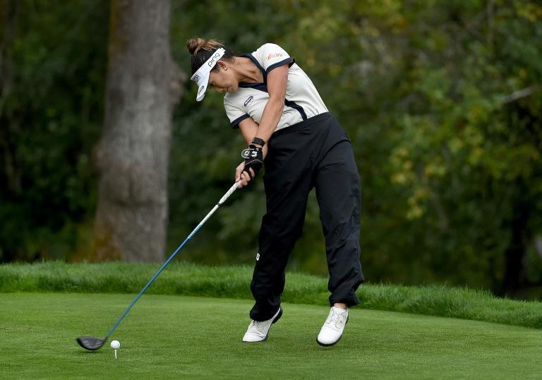 """""""She picks a line and rips it"""": LPGA Rookie sensation Bianca Pagdanganan of the Philippines"""