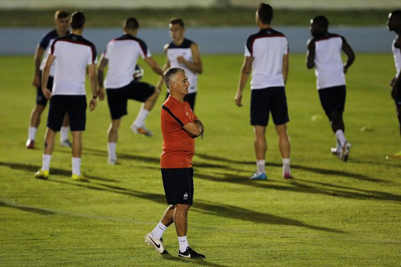 Deschamps plays down expectations of a goal-fest