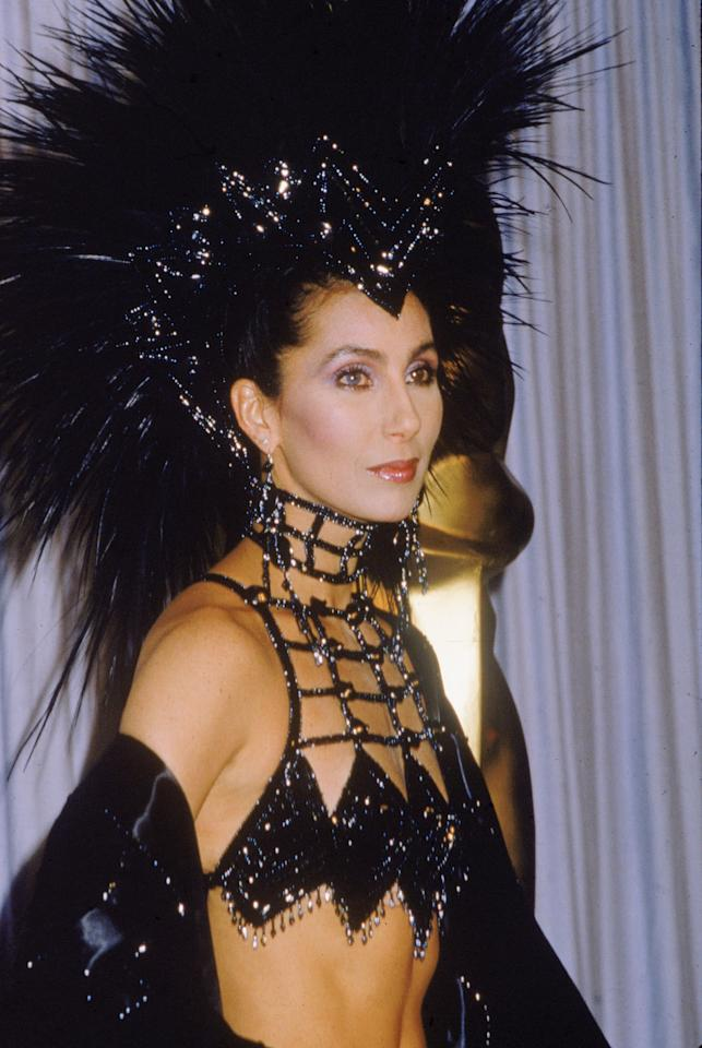 <p>Cher wore this outrageous Bob Mackie look to the ceremony to combat critics who suggested she wasn't nominated for <strong>Mask</strong> because her fashion sense could not be taken seriously. Those spikes speak volumes.</p>
