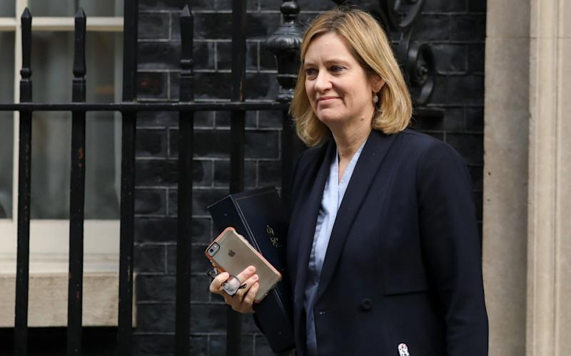 Amber Rudd, the Home Secretary, is considering plans to allow young Europeans to continue coming to the UK to work after Brexit - Bloomberg