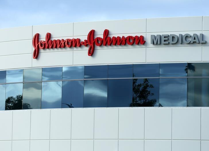 A Johnson & Johnson building is shown in Irvine, California, U.S., January 24, 2017. REUTERS/Mike Blake/Files