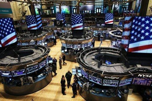 US stocks lower with 'fiscal cliff' talks to resume