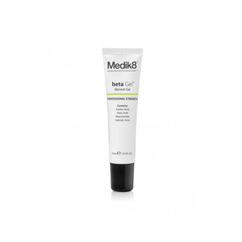 """<p>""""I like Medik8 Betagel for tackling new, inflamed blemishes. It contains a punchy blend of ingredients that work in synergy to reduce redness and also diminish the dark marks most blemishes leave behind."""" </p><p><strong>- </strong><strong>Dr Sam Bunting, Cosmetic Dermatologist and founder of <a rel=""""nofollow"""" href=""""https://www.drsamskincareclub.com"""">Dr Sam Skincare Club</a></strong>.</p><p><a rel=""""nofollow"""" href=""""http://www.feelunique.com/p/Medik8-betaGel-15ml"""">Buy now</a> Feelunique.com, £33<br></p>"""