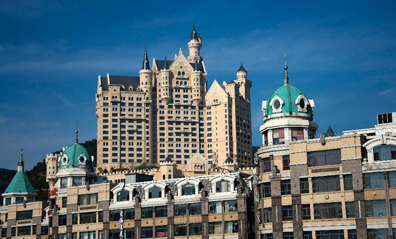 The Castle Hotel Part Of Luxury Starwood Chain In Chinese