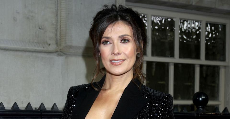 Kym Marsh impressed her Instagram followers when she showed off her abs (Photo: Getty)