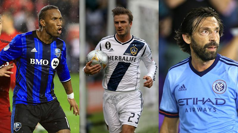 Ibrahimovic to LA Galaxy? Beckham, Drogba, Pirlo and the other stars to try MLS