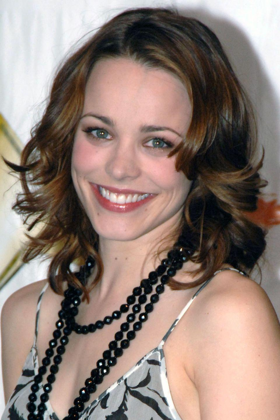 <p>Despite seeming so realistically blonde, this romantic-movie starlet grew up with naturally highlighted medium-brown hair.</p>