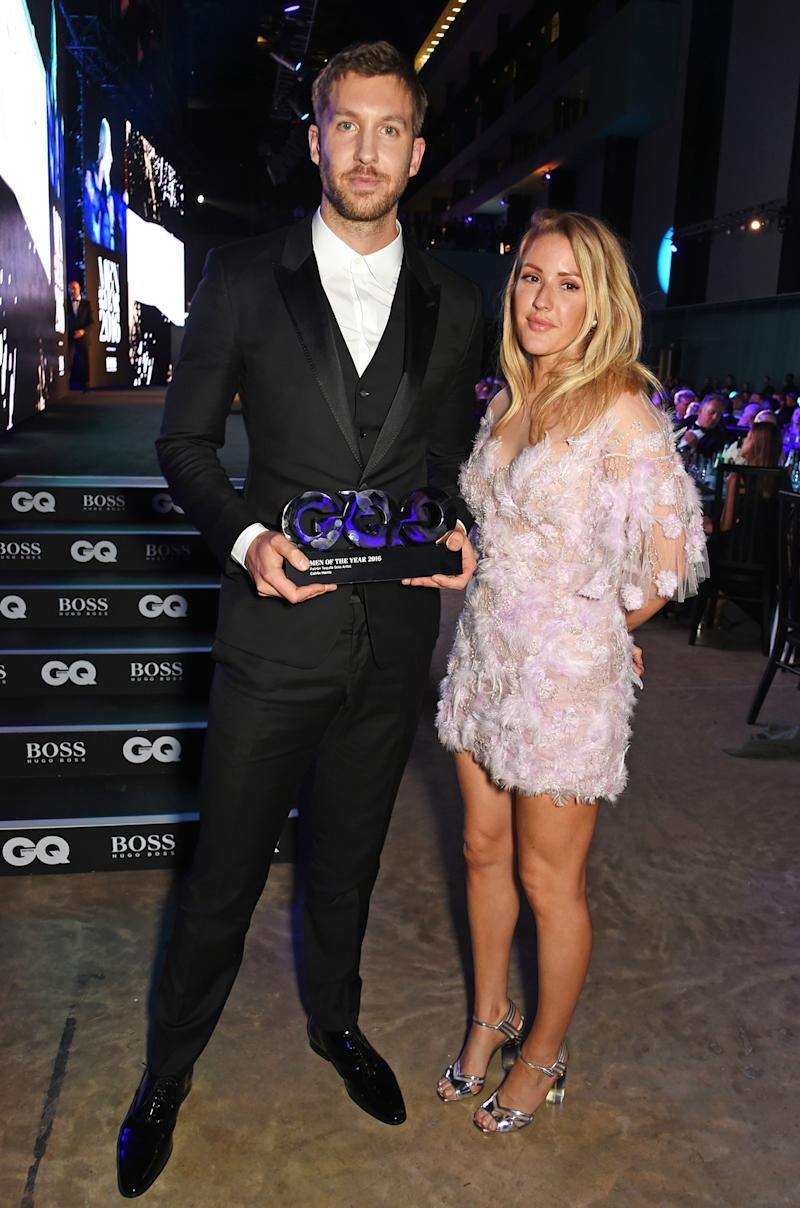 Ellie Goulding And Calvin Harris Are They Dating Calvin Harris Hangs Wi...