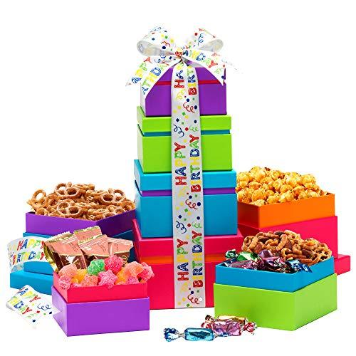 Happy Birthday Wishes Gift Tower (Amazon / Amazon)