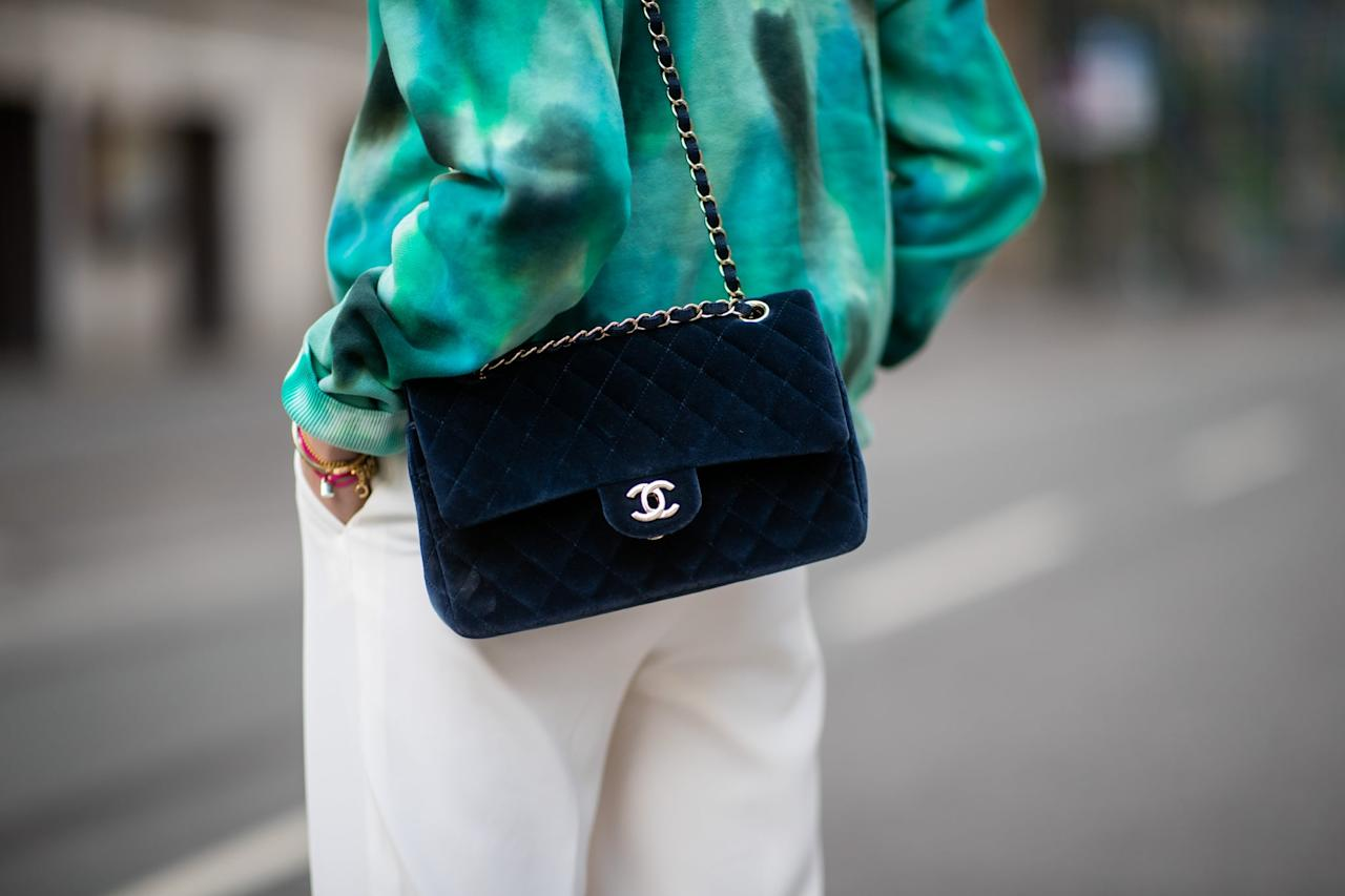 <p>Chanel is one of the few brands whose resale value might even get <em>higher </em>with age. The classic black flap bags run about the same as new retail, depending on condition, but limited edition prints, colors, and shapes can easily appreciate in value much like a piece of art.</p>