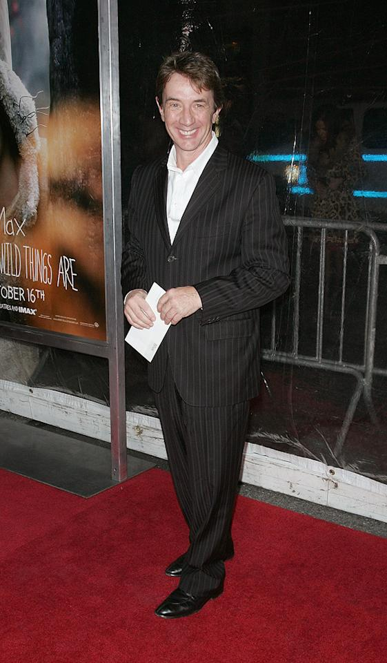 "<a href=""http://movies.yahoo.com/movie/contributor/1800019167"">Martin Short</a> at the New York City premiere of <a href=""http://movies.yahoo.com/movie/1808412037/info"">Where the Wild Things Are</a> - 10/13/2009"