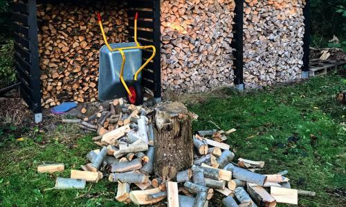 Chopping wood and other autumnal pleasures