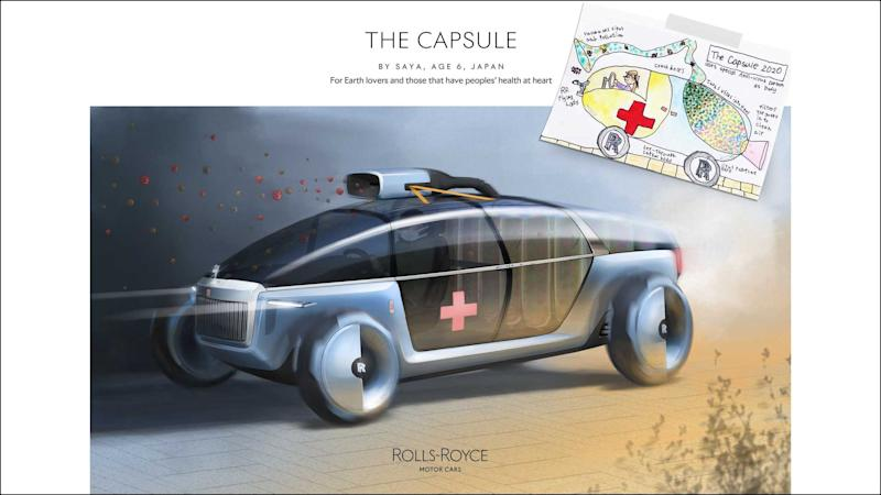 Rolls-Royce Young Designer Competition Winners The Capsule