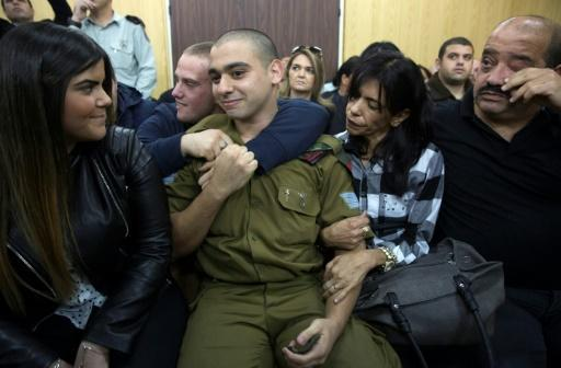 Israeli soldier guilty of manslaughter for shooting Palestinian