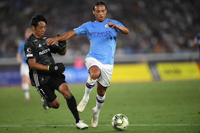 Manchester City's Leroy Sane has dealt with the hardest period of his career (AFP Photo/CHARLY TRIBALLEAU)