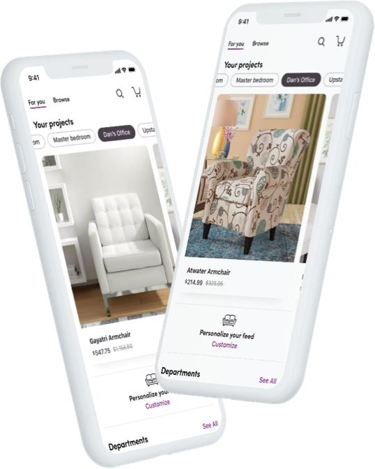 Wayfair Unveils New Mobile App Features, Makes Shopping for Home from Anywhere Easier Than Ever Before