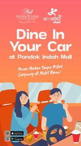 """Dine in Your Car"" at Pondok Indah Mall"