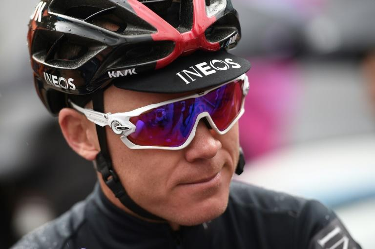 Lucky to be alive: Chris Froome is hoping to return to cycling after suffering multiple fractures in a major crash in June