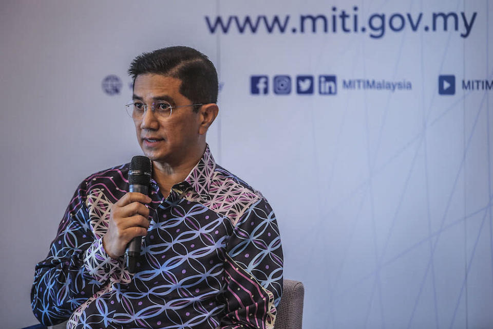 The Gombak MP said he would continue to do his best to discharge his duties and responsibilities, and will remain fully committed to ensuring sustainable recovery and vibrant economic growth. — Photo by Hari Anggara