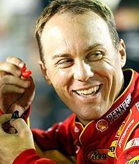 Even if Kevin Harvick ends the regular season as the points leader, chances are he won't be the leader when the Chase begins