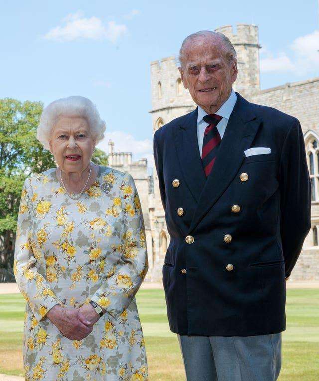 The Queen and the duke