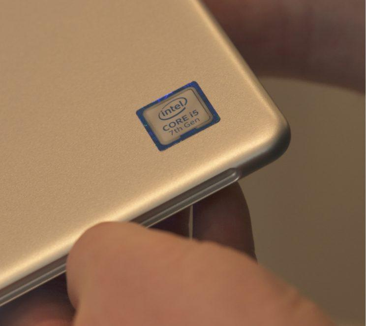 Samsung Galaxy Book 12 with an Intel chip.