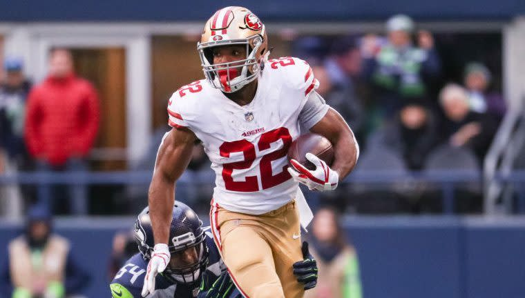 815dce77e5c 49ers rule out Matt Brieda for this week  Marquise Goodwin returns