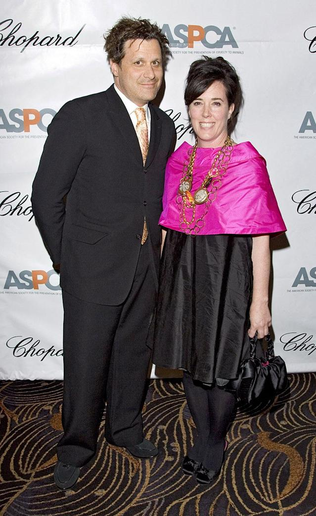 "Isaac Mizrahi and Kate Spade at the ASPCA Bergh Ball, ""Tails of Time,"" at the Mandarin Oriental in New York City in 2007. (Photo: Brian Ach/WireImage for Chopard)"