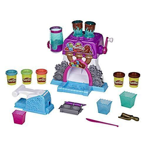 """<p><strong>Play-Doh</strong></p><p>amazon.com</p><p><strong>$18.82</strong></p><p><a href=""""https://www.amazon.com/dp/B07ZYCB7S2?tag=syn-yahoo-20&ascsubtag=%5Bartid%7C10055.g.33609399%5Bsrc%7Cyahoo-us"""" rel=""""nofollow noopener"""" target=""""_blank"""" data-ylk=""""slk:Shop Now"""" class=""""link rapid-noclick-resp"""">Shop Now</a></p><p>Kids can create faux gummy bears, peanut butter cups, and more with this playset that comes with five cans of Play-Doh. </p>"""
