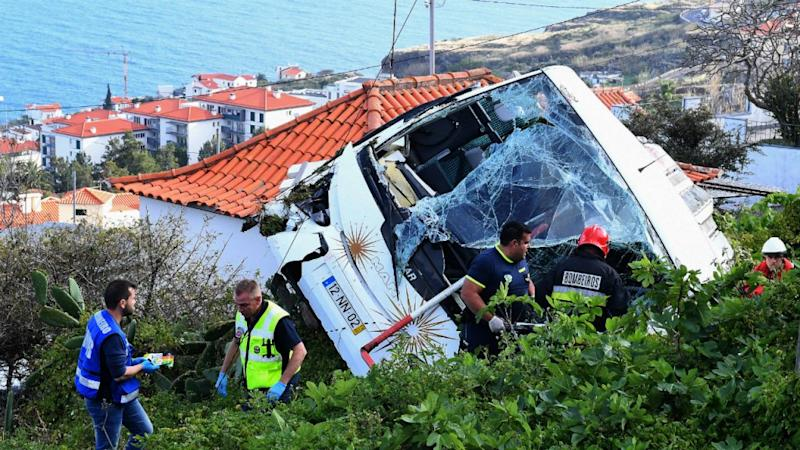 German tourists killed in Portugal bus crash