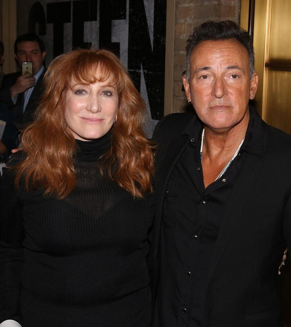 """<p>Very soon after his divorce, Springsteen started dating Scialfa. He was widely criticized for how quickly he moved on, to which he <a href=""""https://books.google.com/books?id=AihsGOjN5-oC&pg=PA213&lpg=PA213&dq=bruce+springsteen+well%2C+all+I+know+is%2C+this+feels+real%2C+and+maybe+I+have+got+a+mess+going+here+in+some+fashion%2C+but+that%27s+life&source=bl&ots=fXyFfaMQAW&sig=ACfU3U1TLiAC5eU_Js7WTUw76a_daiDYtg&hl=en&sa=X&ved=2ahUKEwiZlPGfvtnjAhVJwlQKHaIZCeYQ6AEwC3oECAkQAQ#v=onepage&q=bruce%20springsteen%20well%2C%20all%20I%20know%20is%2C%20this%20feels%20real%2C%20and%20maybe%20I%20have%20got%20a%20mess%20going%20here%20in%20some%20fashion%2C%20but%20that's%20life&f=false"""" rel=""""nofollow noopener"""" target=""""_blank"""" data-ylk=""""slk:said"""" class=""""link rapid-noclick-resp"""">said</a>: """"Well, all I know is, this feels real, and maybe I have got a mess going here in some fashion, but that's life.""""</p>"""