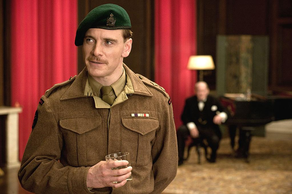 """<a href=""""http://movies.yahoo.com/movie/contributor/1808605401"""">Michael Fassbender</a> in The Weinstein Company's <a href=""""http://movies.yahoo.com/movie/1808404206/info"""">Inglourious Basterds</a> - 2009"""