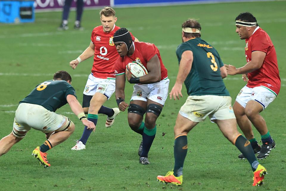 Maro Itoje's performance stood out on a bad day for the Lions in Cape Town (Getty Images)