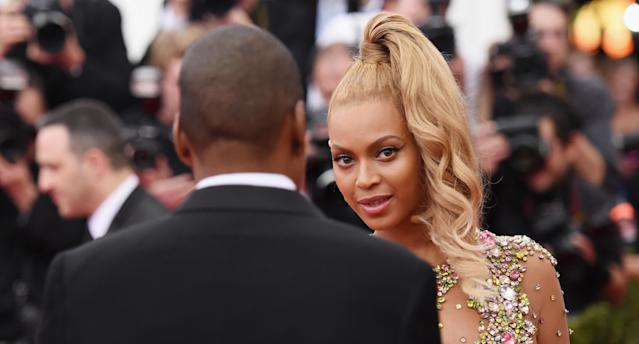 Maintaining beautiful blond locks like Queen Bey just got easier thanks to her colorist, Rita Hazan. (Photo: Getty Images)