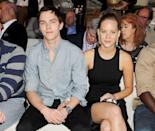 """<p>The former couple met on the set of 2011's <em>X-Men: First Class</em> and went on to work together in<em> X-Men: Days of Future Past</em> (2014). After two years of dating, they shortly separated, then rekindled their romance in late 2013, only to split for good a year later <a href=""""http://www.huffingtonpost.com/2014/03/07/nicholas-hoult-jennifer-lawrence-special_n_4914048.html"""" rel=""""nofollow noopener"""" target=""""_blank"""" data-ylk=""""slk:in 2014"""" class=""""link rapid-noclick-resp"""">in 2014</a>. After breaking up, the two went on the film <em>X-Men: Apocalypse </em>together, which was released in 2016. </p>"""