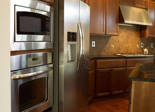 "<p>During the last decade, <a href=""http://www.bobvila.com/slideshow/9-cutting-edge-energy-efficient-appliances-45713"" title=""http://www.bobvila.com/slideshow/9-cutting-edge-energy-efficient-appliances-45713"">home appliances</a> caused an estimated 150,000 fires each year, and a significant number of these were caused by defective appliances. To keep on top of recalls and prevent disaster in your home, register your appliance with the manufacturer or go to <a href=""http://www.recalls.gov"">www.recalls.gov</a> to find out if any of your models are on the list. <i>Photo: fotosearch.com</i><br />RELATED: <a href=""http://www.bobvila.com/slideshow/meet-the-next-generation-of-high-tech-kitchen-appliances-48628"" title=""http://www.bobvila.com/slideshow/meet-the-next-generation-of-high-tech-kitchen-appliances-48628"">Meet the Next Generation of High-Tech Kitchen Appliances</a></p>"