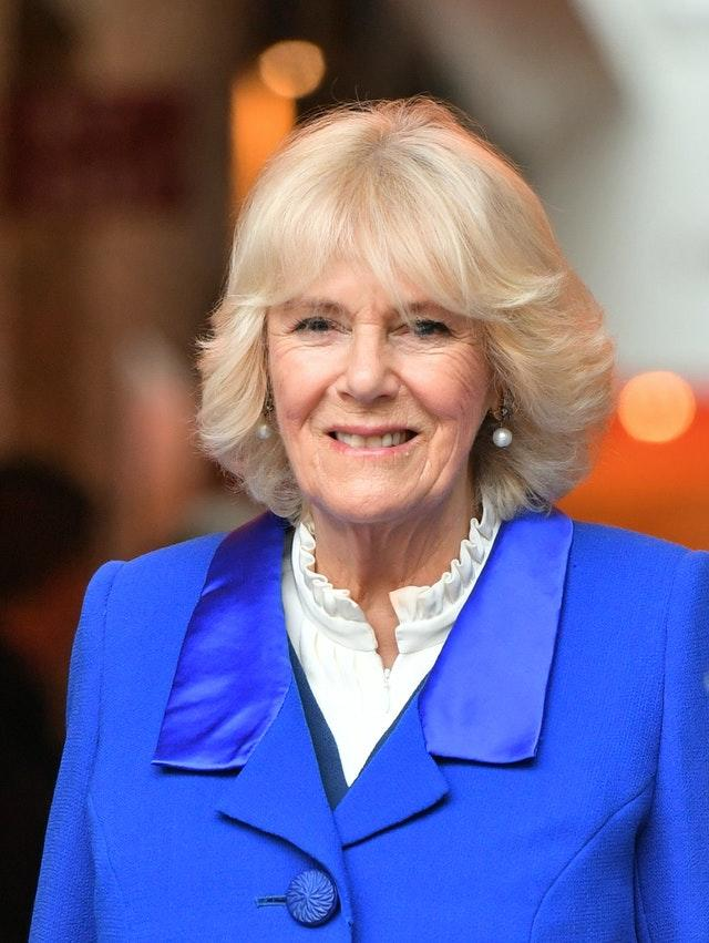 Duchess of Cornwall's message to Givit