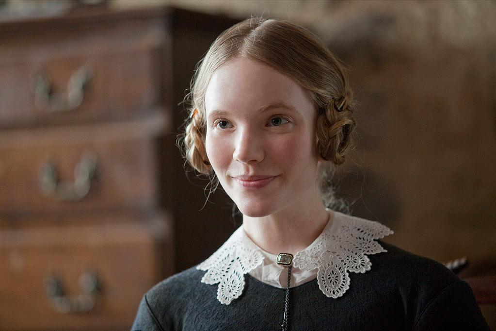 """Mary Rivers -- The younger of the two Rivers sisters, Mary """"sees the story in everything -- she's so imaginative,"""" says actress <a href=""""http://movies.yahoo.com/movie/contributor/1808686697"""">Tamzin Merchant</a>, who portrays Mary in Focus Features' <a href=""""http://movies.yahoo.com/movie/1810161778/info"""">Jane Eyre</a> - 2011"""