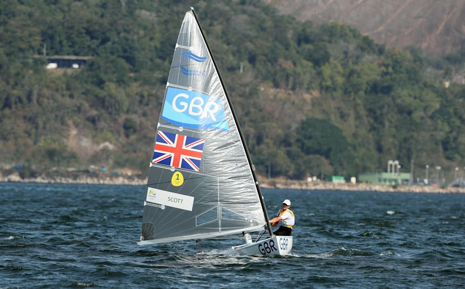 Giles Scott is targeting a second consecutive sailing gold (Martin Rickett/PA) (PA Archive)