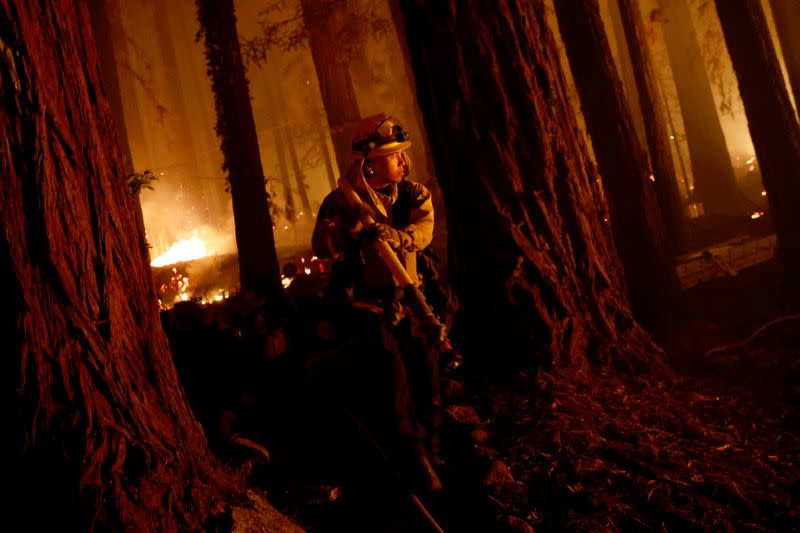 California governor calls wildfires 'deadly moment,' urges residents to flee